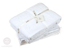 Набор полотенец 2 шт Luxberry Imperio белый