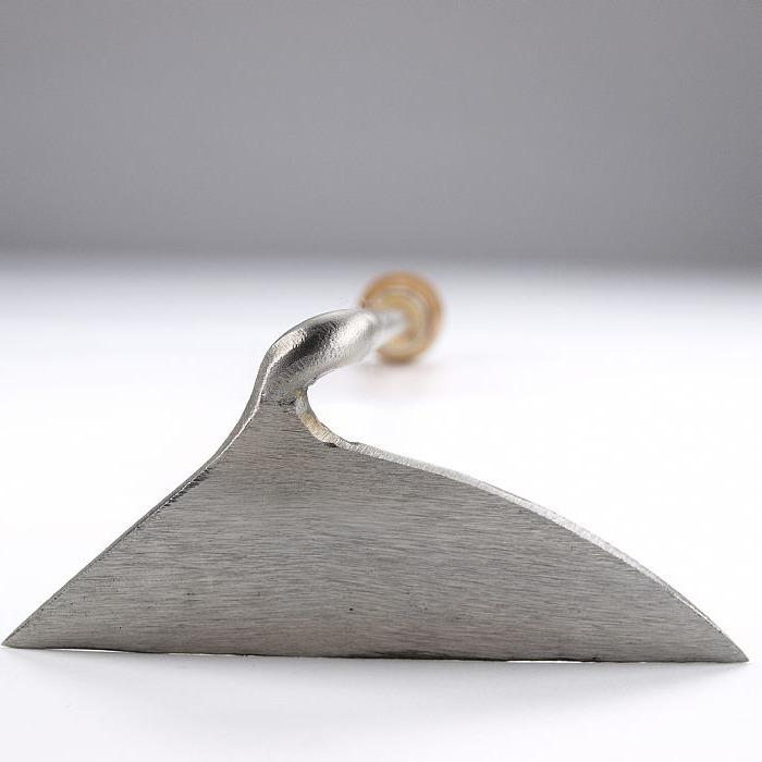 Мотыга ручная 12 см Sneeboer праворучная, ручка вишня