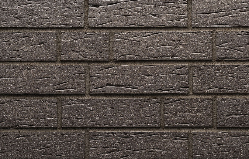 Stroeher - 430 den haag, Keraprotect, неглазурованная, поверхность под шагрень с посыпкой, 240x71x11 - Клинкерная плитка для фасада и внутренней отделки