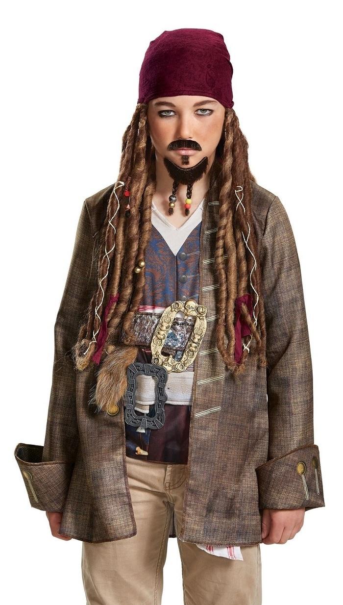 Пираты Карибского борода и усы Джека Воробья