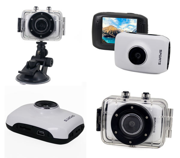 ACTION CAMCORDER HD white