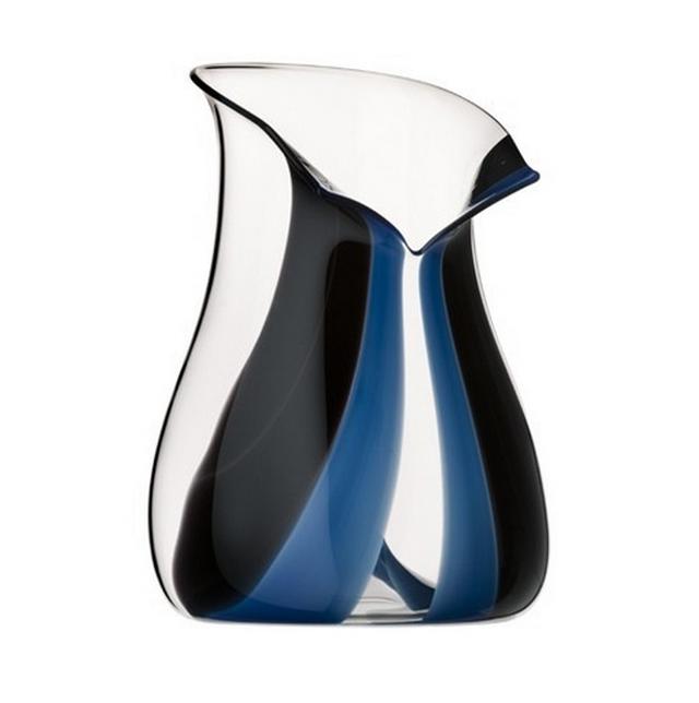 Ведро для охлаждения хрустальное Riedel Black Tie синее