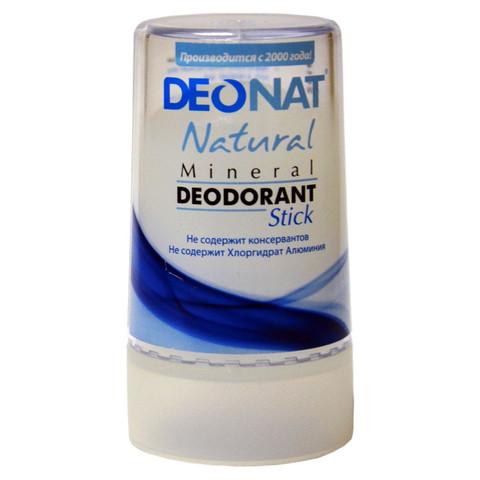 Deonat, Минеральный дезодорант Кристалл, стик чистый,