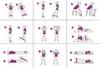 <p>Во время занятий с резиновыми петлями задействованы практически ...