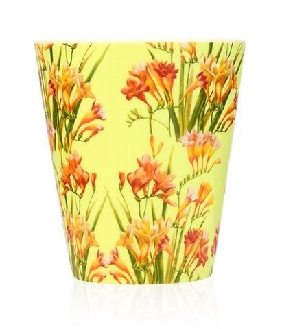 Свеча ароматическая в керамике Цветущая фрезия, Wax Lyrical