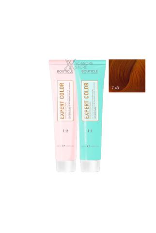 Expert Color Hair Color Cream 7/43 русый медно-золотистый 100 мл