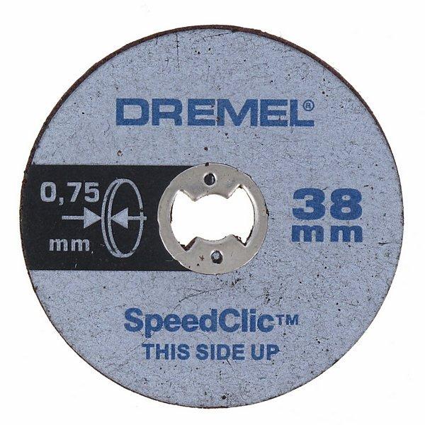 Отрезные круги тонкие по металлу SC409 5шт Dremel 2615S409JB