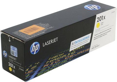 Картридж жёлтый 201X HP Color LaserJet Pro M252dw, M277dw, M277n. Ресурс 2,3K (CF402X)