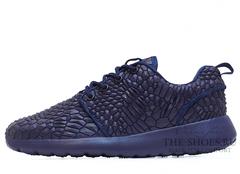 Кроссовки Мужские Nike Roshe Run Blue DIAMONDBACK