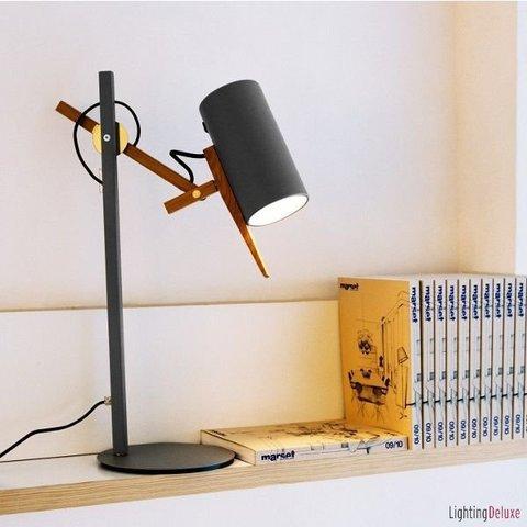 replica  Scantling table lamp ( grey )