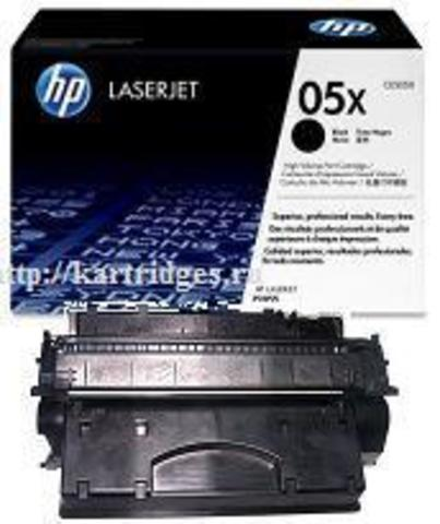Картридж Hewlett-Packard (HP) CE505X