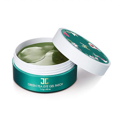 Патчи под глаза JAYJUN Cosmetic Green Tea Eye Gel Patch