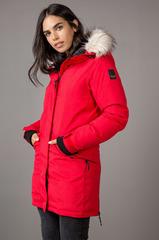 Удлинённая мембранная Куртка-Парка Женская 8848 Altitude Derica Red