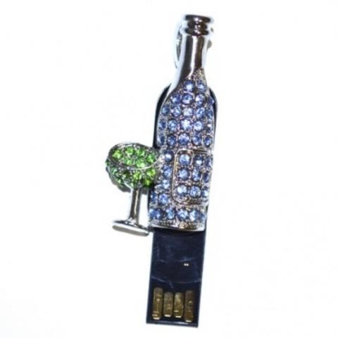 usb-флешка бутылка вина