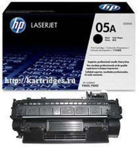 Картридж Hewlett-Packard (HP) CE505A