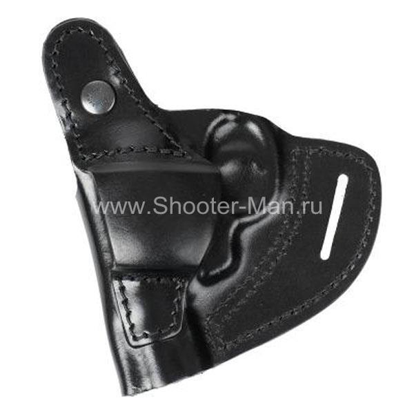 Кобура кожаная для револьвера Гроза Р-02 ( модель № 6 ) Стич Профи