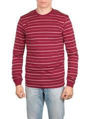 1575-3 футболка мужская дл. рукав, бордовая
