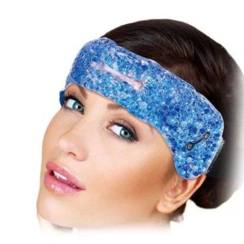 Гелевая повязка анти-стресс на голову