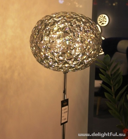 Kartell Planet ( grey ) floor  lamp