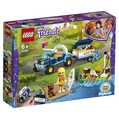 LEGO Friends: Багги с прицепом Стефани 41364 — Stephanie's Buggy & Trailer — Лего Френдз Друзья Подружки