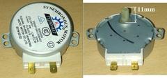 Мотор привода тарелки СВЧ 220/240V, 50/60Hz, 4W, 4rpm, H=8мм
