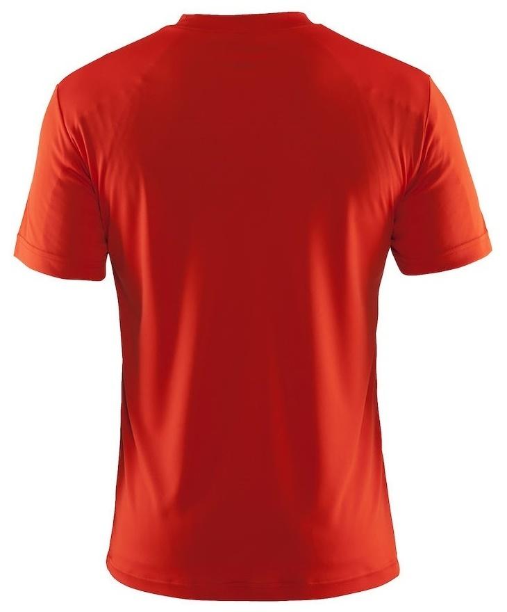 Мужская спортивная футболка для бега Craft Active Run (198921-1569) оранжевая фото