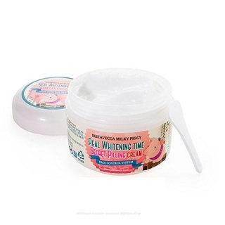 Кремы и гели Осветляющий крем-пилинг для лица Elizavecca Milky Piggy Real Whitening Time Secret Pilling Cream ELIZAVECCA-Milky-Piggy-Real-Whitening-Time-Secret-Pilling-Cream.jpg