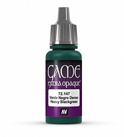 Game Color Heavy Blackgreen 17 ml.