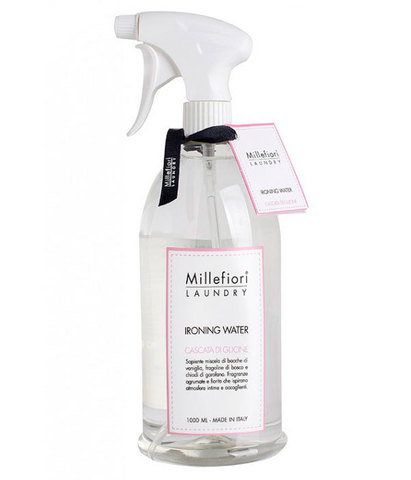 Парфюмированная вода для отглаживания белья Laundry Шепот водопада, Millefiori Milano