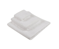 Набор полотенец 3 шт Luxberry Imperio белый
