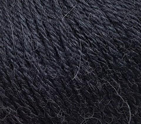 Пряжа Gazzal Baby Alpaca черный 46000