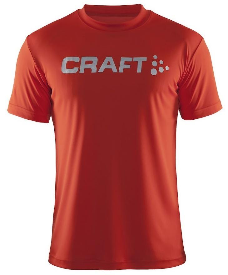 Мужская футболка для бега Craft Active Run (198921-1569) оранжевая фото
