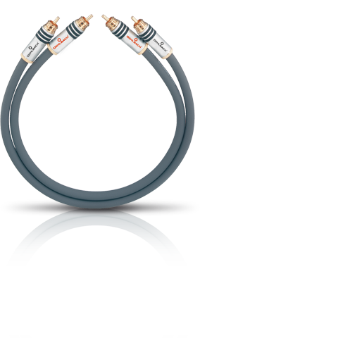 Oehlbach NF14 Master RCA 2x4.25m, кабель межблочный