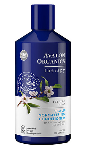 Терапевтический антисеборейный кондиционер с чайным деревом, Avalon Organics