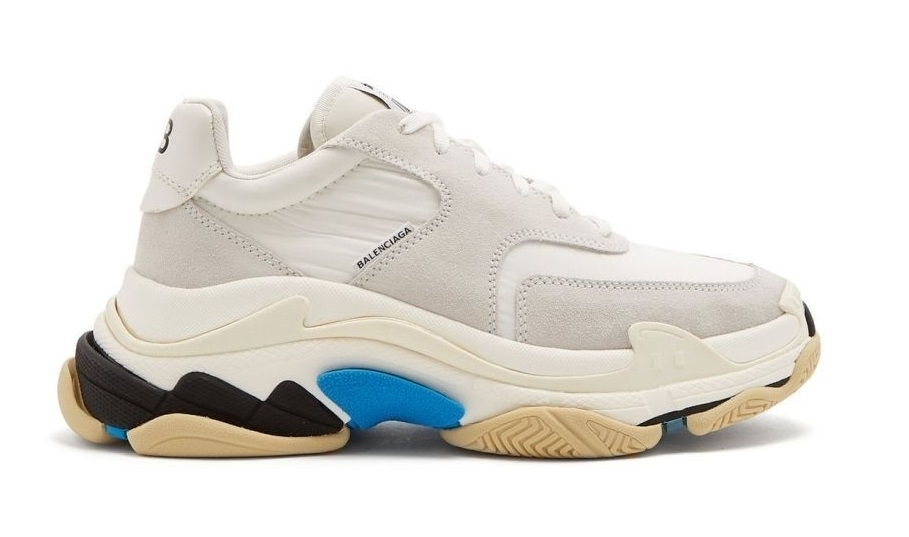 Balenciaga Triple S 2.0 (White/Blue) (014)