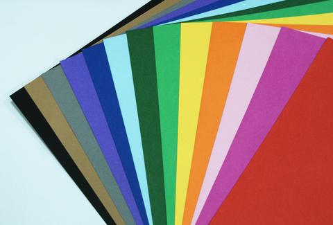 051-2619 Цветная плотная бумага/картон, двухстороняя (10 листов)