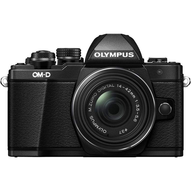 Olympus OM-D E-M10 Mark III Kit 1442 R II Black