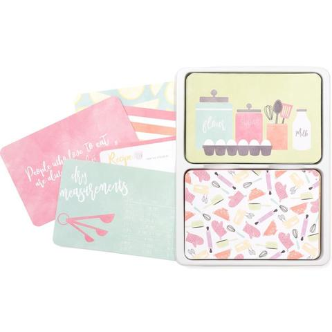 Kit набор карточек и украшений для Project Life- Recipe - 120шт