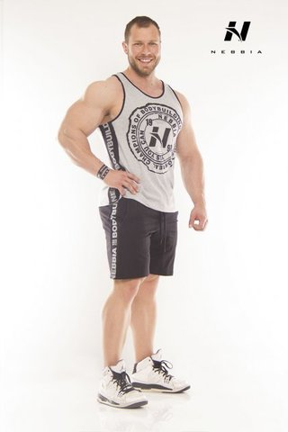 Мужская майка Nebbia Fitness 976