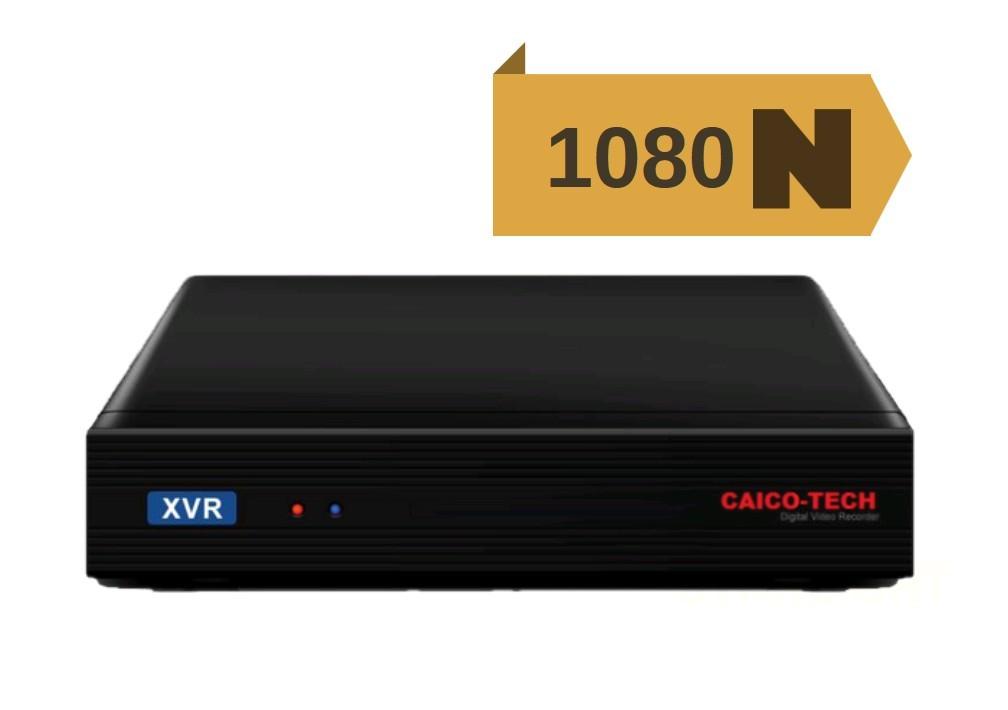 XVR C-DVR 4 1080N Гибридный видеорегистратор 5 в 1 CAICO-TECH 4 CH CVT AHD IP TVI 960H