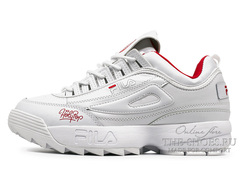 Кроссовки Fila DISRUPTOR 2 HolyPop White Red