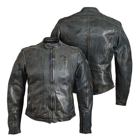 Rokker, Куртка кожаная Street Grey