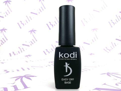 KODI, Базовое покрытие для гель лака, не требует полимеризации в UV и LED лампе Easy off base, 8 мл