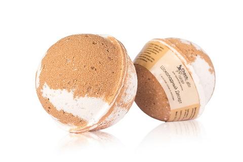 Гейзер (бурлящий шарик) для ванн Шоколадный десерт, 120g ТМ ChocoLatte