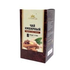 Чай имбирный, Алтай Флора, с корицей, медом и лимоном, 20 ф/п*1,5 г.