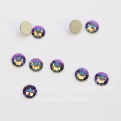 2088 Стразы Сваровски холодной фиксации Black Diamond Shimmer ss 12 (3,0-3,2 мм), 10 штук