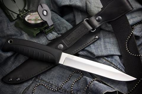 Туристический нож Таран Полированный Эластрон z90