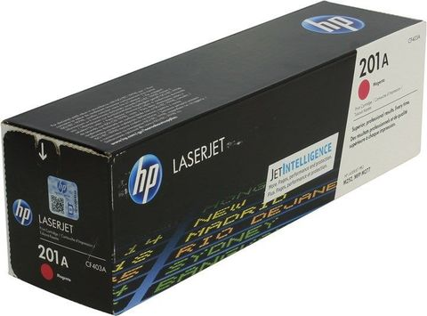 Картридж пурпурный 201A HP Color LaserJet Pro M252dw, M277dw, M277n. Ресурс 1K (CF403A)