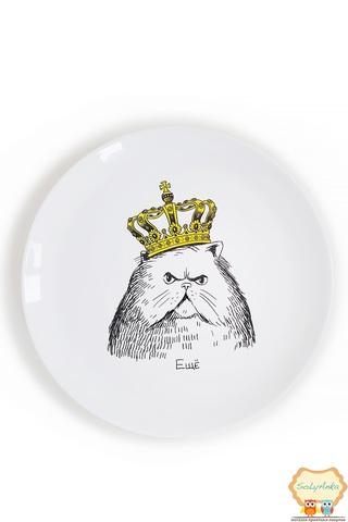Тарілка Кіт в короні