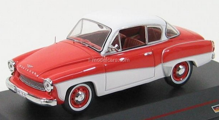 model cars wartburg 311 3 coupe orange cream 1958 ist052 ist models 1 43. Black Bedroom Furniture Sets. Home Design Ideas